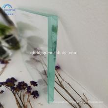Panneau de mur intérieur isolé par 6mm 8mm 10mm 12mm a trempé des panneaux de mur de douche de verre pour la véranda