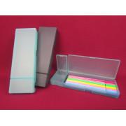 Premier quality pencil box pen pp box plastic case for pen stationery case