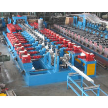 Umformstation Einseitig verstellbare C / Z-Pflaume Wechselbare Kaltrollenformmaschine