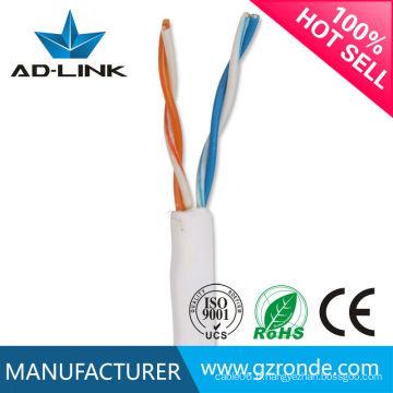 Nous fournissons une spécification de câble PVC Cat3 de grande qualité