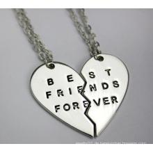 Beste Freunde für immer Paar Anhänger Halskette (YN0178)