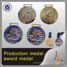 Médaille olympique 3D faite sur commande en métal de sport