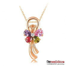 18k Gold Plated Wedding Jewelry Pendant Wholesale Pingente (CNL0030-C)