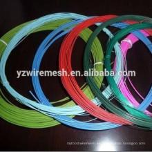 2.0mm, 2.5mm, 3.0mm, alambre galvanizado revestido PVC de 3.5mm (fábrica)