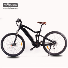 2018 Hot selling 26'' 36v250w BAFANG mid drive electric bicycle mountain bikes with hidden battery