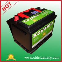 ISO aprobó 55ah 12V automotriz SMF automóvil de la batería de coche DIN55-MF
