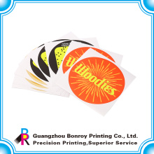 Kundenspezifischer Geschäftsband-Logo-Papieraufkleber