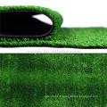 Herbe synthétique de gazon d'herbe courte de 10mm pour le paysage
