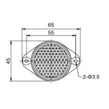 Td-04 Serie Lichtschranke Sensor Reflektor