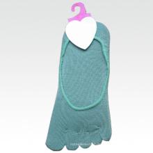 Frauen-Baumwoll-Knöchel-Boots-Zehen-Socke