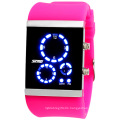 Colorful Silicone Digital Watch with Waterproof