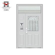 Diseño moderno y elegante de puertas de hierro.