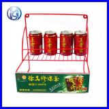 Hot Sale Modern Iron Wire Beverage Can Display Rack HS-X7