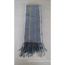 Top grade reversible mongolian blended scarf