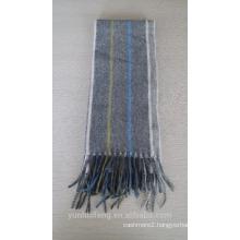 Top grade reversible mongolian blended scarf