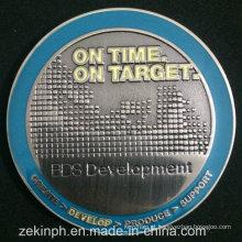 Metal personalizado estampando a moeda antiga de tira