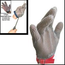 Schutzhandschuhe aus Edelstahl