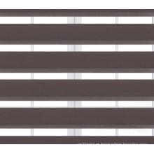 Cortina de rolo de zebra Sombra lisa tingida
