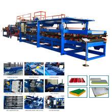 Xinnuo fábrica preço alumínio composto painel de produção linha de sanduíche