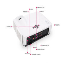 2016hot Sell LED Digital 3D Projector