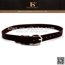 Cinturón de cuero hecho a mano por encargo de las señoras de China de la fábrica