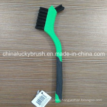 7 Inch Plastic Handle Plastic Wire Cleaning Brush (YY-541)