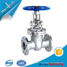 CF8 / CF8M / WCB / 1.04308 / 1.4408 / 1.0619, Material em Aço Inoxidável e válvula de ângulo de Estrutura de Portão