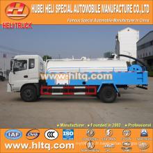 DONGFENG 4x2 6000L camion de lavage à pression 170hp moteur cummins prix bon marché