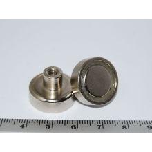 Topf-Magnet mit Innengewinde (POT-D)
