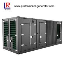 Контейнерный дизельный генератор мощностью 1 МВт Работает на двигателе Cummins