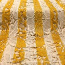 Striped Printing Dekorative Spitze für Kleidungsstück