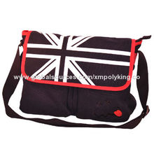 2014 Latest Brand Fashion Leather Messenger Bag for Teenager, OEM/ODM Orders Welcomed