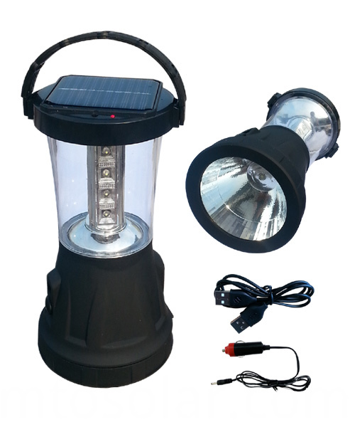 Colorful solar LED lantern for torch