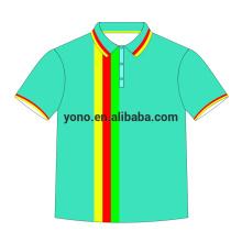 la última impresión personalizada con su propio polo con logo para hombre camiseta