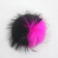 Factory Direct Supply Raccoon Skin Fur Material Rabbit Fur Pompom Ball
