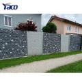 Fornecimento direto da fábrica quente mergulhado galvanizado barreira defensiva construção gabion caixa