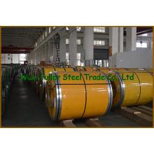 Bobinas de aço inoxidável Cr 310S em estoque