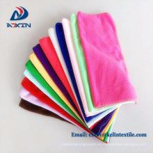 Toallas de secado absorbentes del coche del paño de la limpieza de la microfibra 350gsm