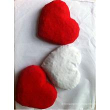 Coussin doux en forme de coeur en cerisier