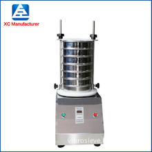 Soda ash chemicals analysis lab test sieve shaker