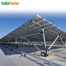 Utilisation commerciale 25 ans de garantie Installation facile Système de montage solaire au sol pour centrale électrique
