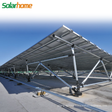 Commercial Use 25 Years Warranty Easy Install Solar Power Plant Ground Solar Mounting System