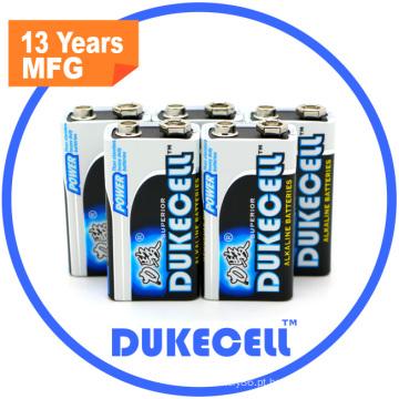 Bateria seca de 9 volts Gold Power 6lr61