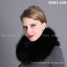 Natural Fox Scarf Eswj-13A