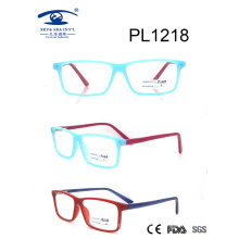 2017 Square Shape PC Optical Glasses (PL1218)