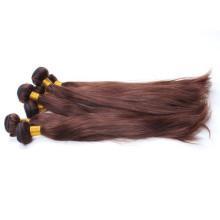 Fábrica al por mayor virginal malasio 100 por ciento del pelo humano remy