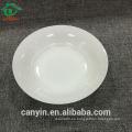 Placa de sopa de cerámica barata vendedora caliente del plato de cocina del estilo del estilo