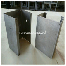 Precision Metal pliage Sheet Metal Fabrication