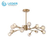 LEDER Glass Красивые потолочные люстры