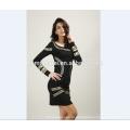 ОЕМ 2017 сексуальные женщины платье без спинки летнее платье офис Леди платье